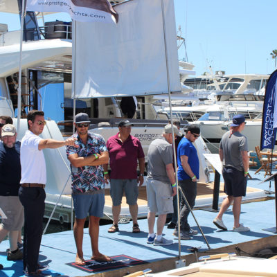 Newport Beach in water Boat Show - 2019