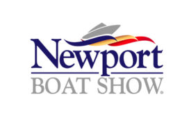 Newport Beach in water Boat Show
